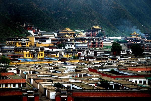 Die Klosterstadt Xiahe