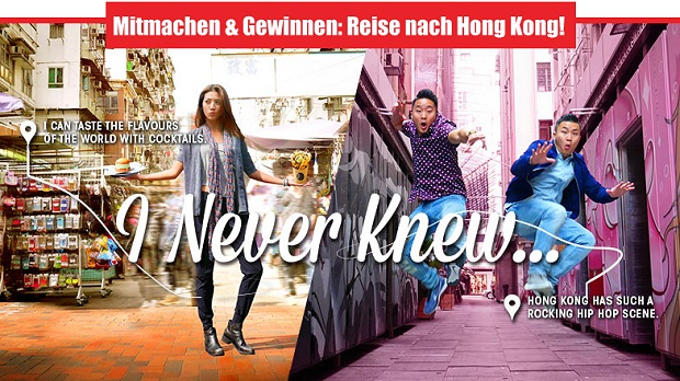 I Never Knew-Geschichte: Gewinnen eine Reise nach Hongkong!