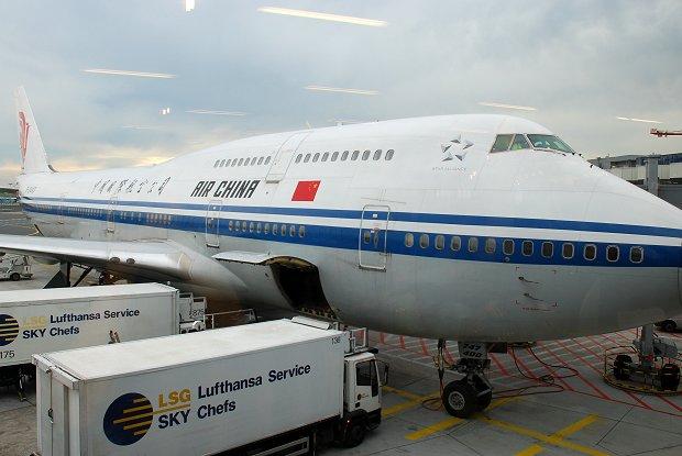 Air China fliegt von Frankfurt nach Shenzhen