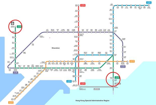 Shenzhen U-Bahn