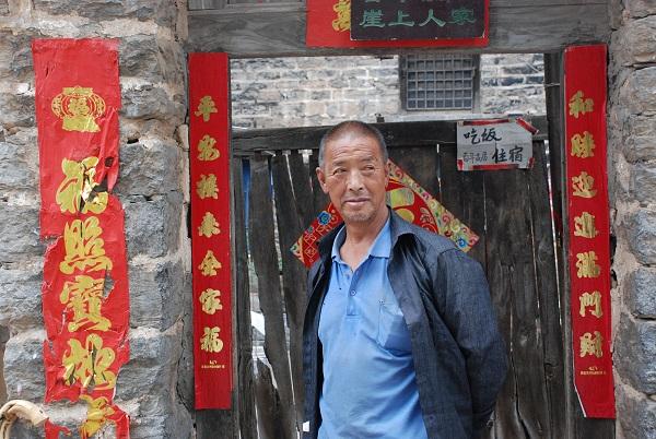 Guoliang-Dorf Bewohner