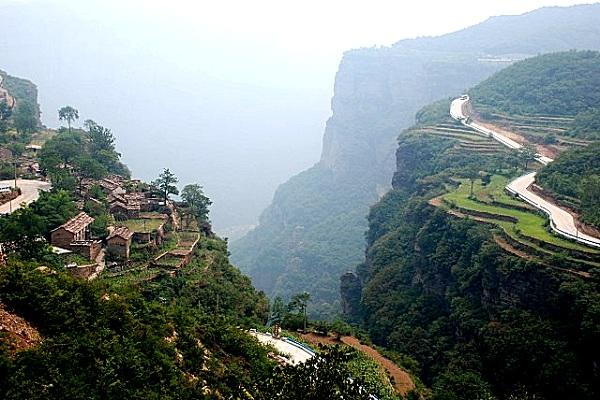 Himmelsstraße am Taihang Grand Canyon