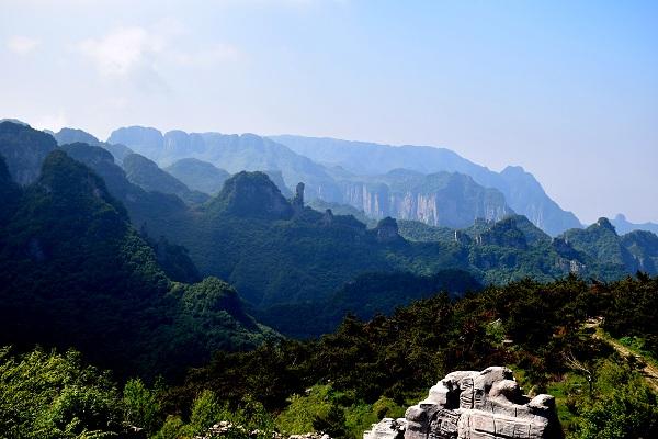 Traumhafte Landschaft in Wangmangling