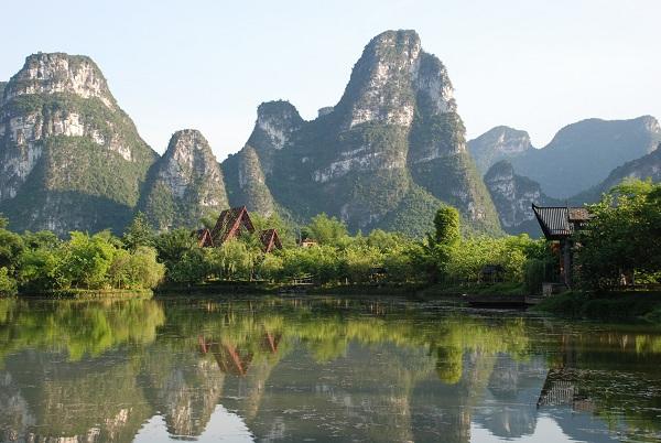 Karstlandschaft in Daxin
