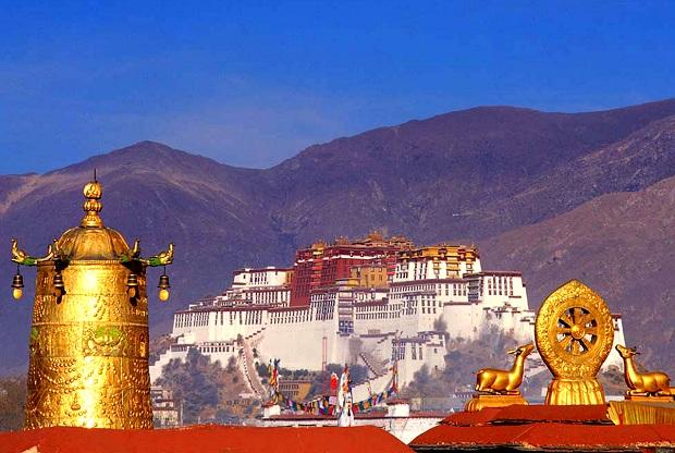 Tibet-Nepal-Kombinationsreise: Potala-Palast in Lhasa
