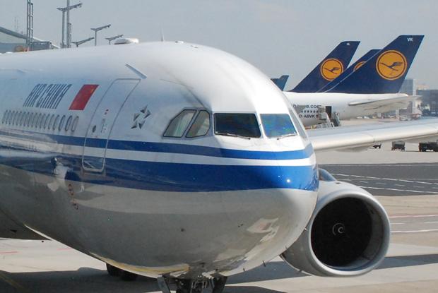 Lufthansa & Air China