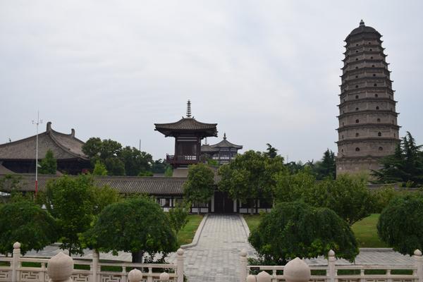 Famensi-Tempel: Ausflugsziel von Xian