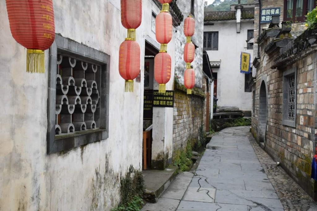Dorf Jiangwan in Wuyuan