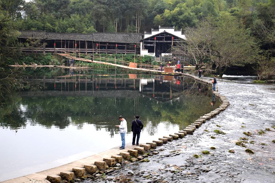 Qinghua-Regenbogenbrück