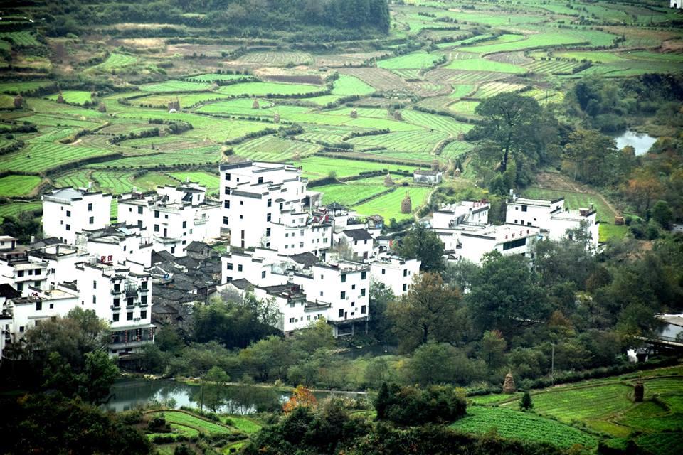 Dorf Jiangling in Wuyuan