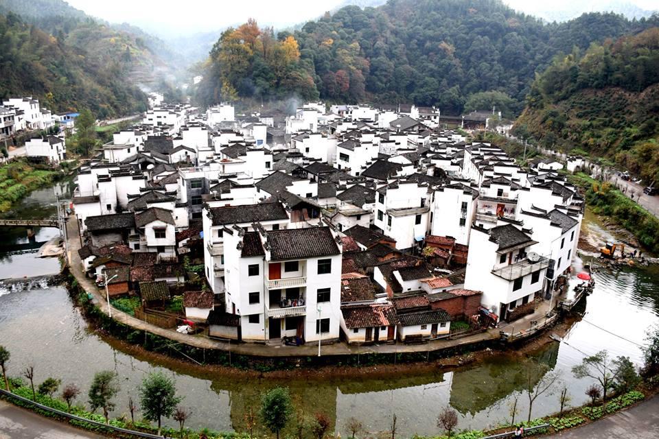 Dorf Jujing in Wuyuan