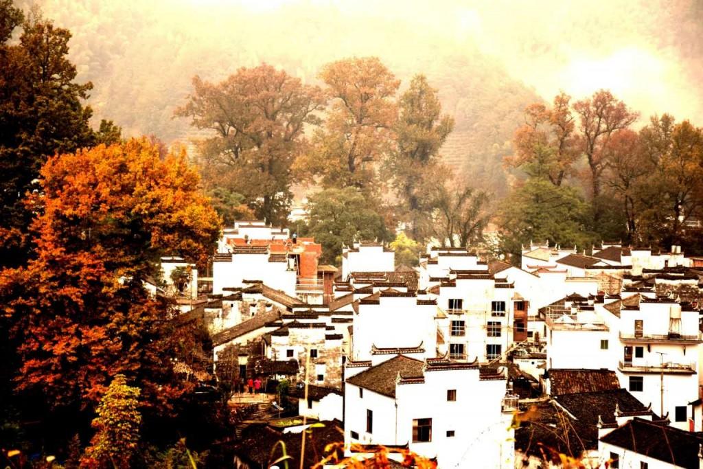 Dorf Shicheng in Wuyuan