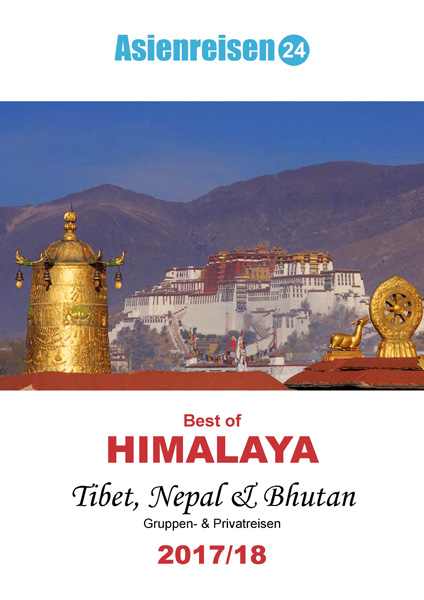 Reisekatalog Best of Himalaya 2017