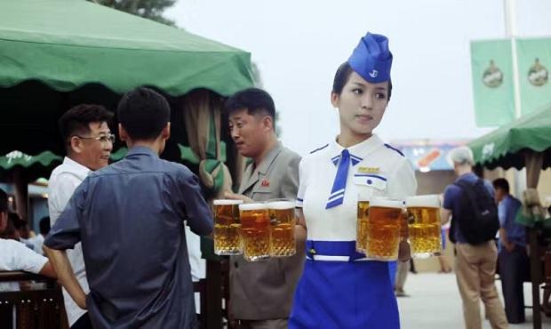 Bierfestival in Pyongyang