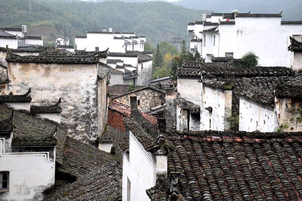 Dorf Changtan in Wuyuan