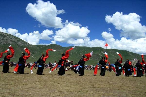 Jyekundo-Nomadenfest in Yushu
