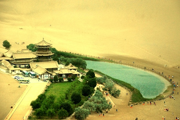 Mondsichelsee in Dunhuang