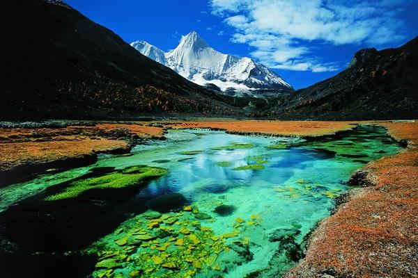 Yading-Naturschutzgebiet als Shangri-La