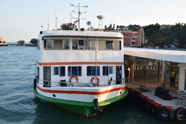 Boot zur Insel Gulangyu