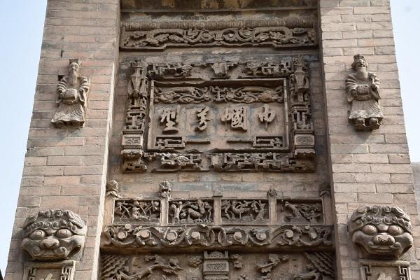 Jiexiao-Denkmal im Dorf Dangjiacun