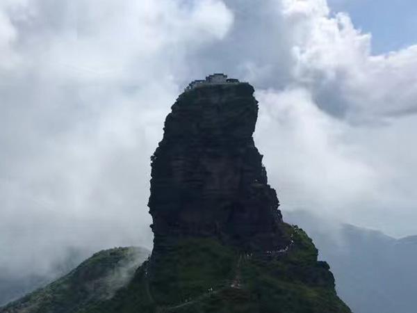 Goldener Gipfel Jinding auf Fanjingshan