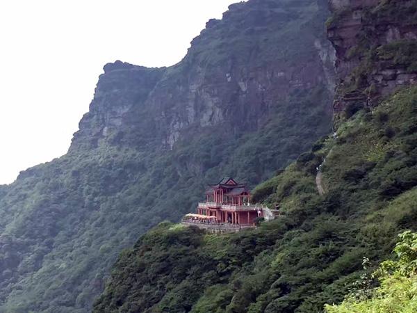 Tempel auf Fanjingshan
